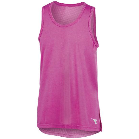 Split Muscle - Girls' Sleeveless T-Shirt