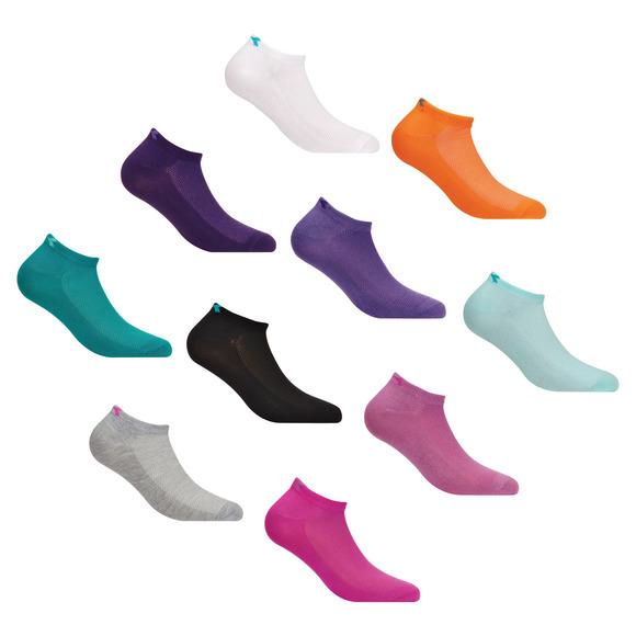 DW9770S17P - Socquettes pour femme (paquet de 10 paires)