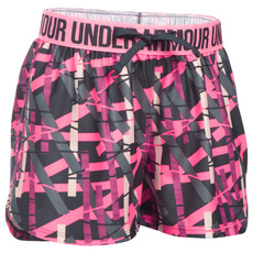 Printed Play Up Jr - Girls' Shorts