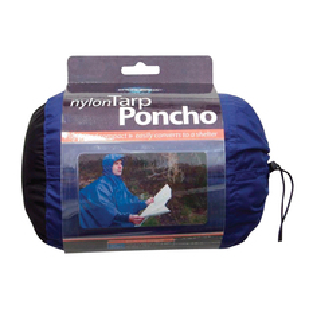 Poncho 188 - Nylon Tarp/Poncho