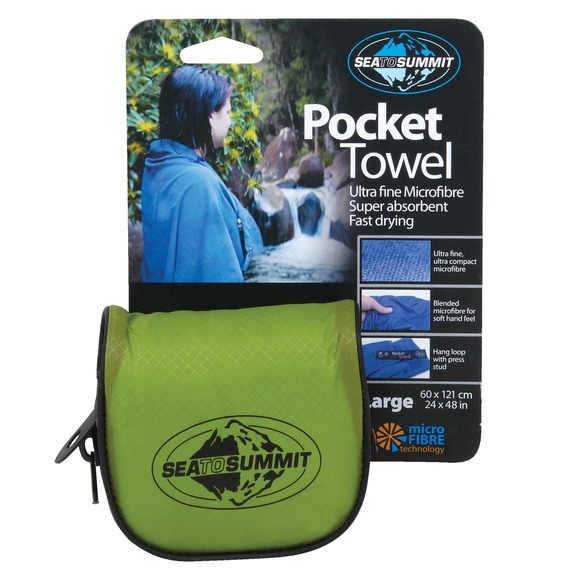Pocket Towel 200 - Serviette en microfibre