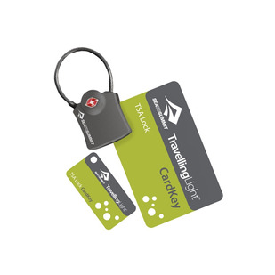 Travelling Light Cardkey - Lightweight Travel Lock With Cable