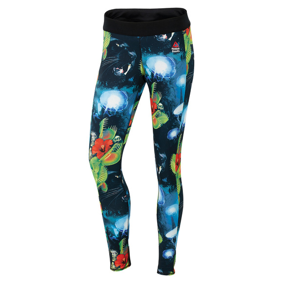 RCF Chase Hidden Jungle - Reversible Women's Tights