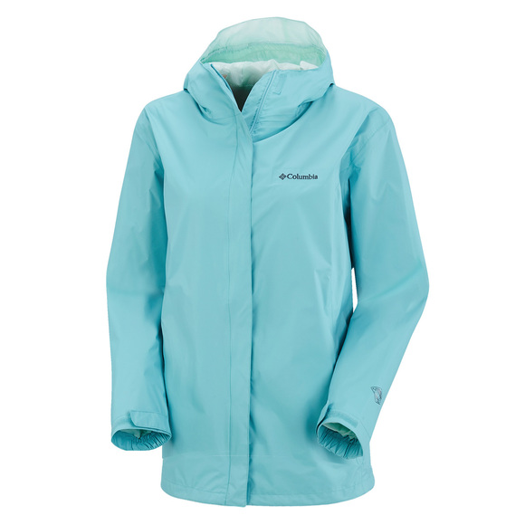 Arcadia II Plus Size - Women's Hooded Waterproof Jacket