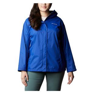 Arcadia II (Plus Size) - Women's Hooded Waterproof Jacket