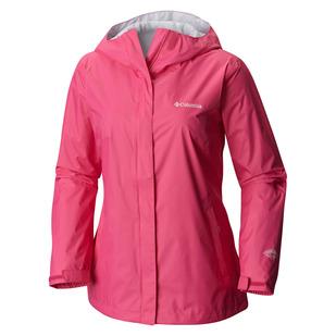 Arcadia II (Taille Plus) - Manteau imperméable à capuchon pour femme