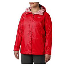 Arcadia II (Plus Size) - Women's Hooded Waterproof Jacket