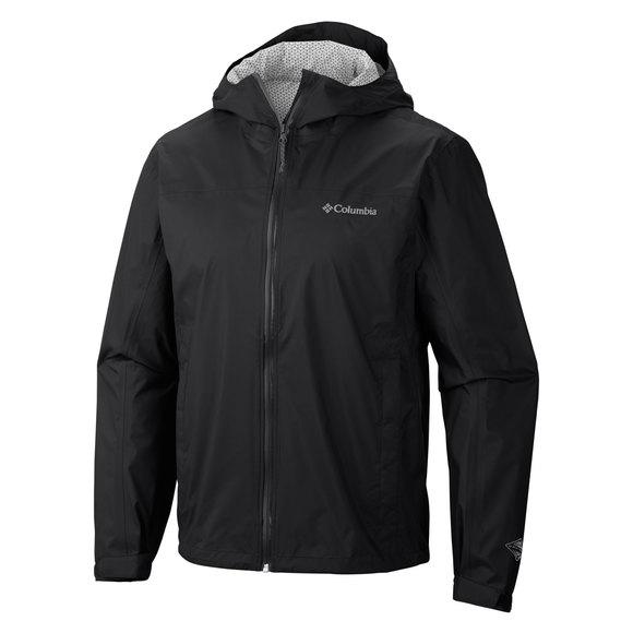 Evapouration - Men's Hooded Rain Jacket
