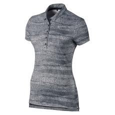 Precision Zebra - Polo de golf pour femme