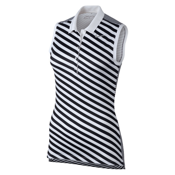 Precision - Women's Stretch Sleeveless Golf Polo