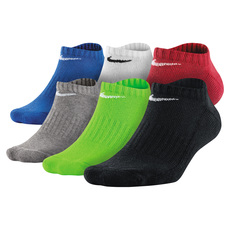 Cushion No Show - Junior Ankle Socks (pack of 6 pairs)
