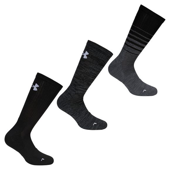 Phenom Twisted - Men's Half-Cushioned Socks (Pack of 3 pairs)