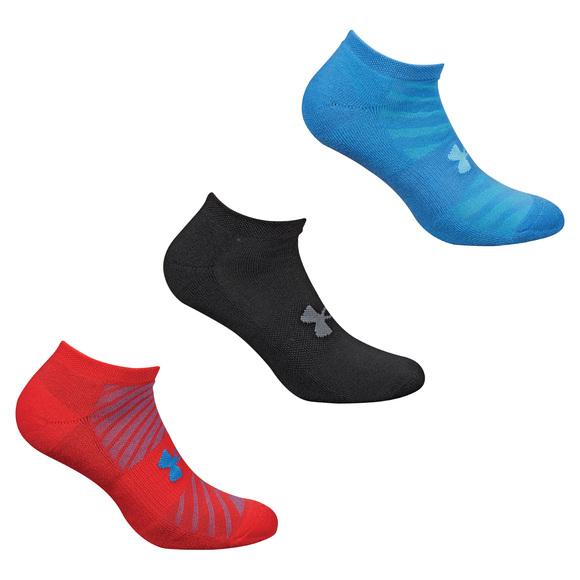 Athletic No Show - Socquettes pour homme (paquet de 3 paires)