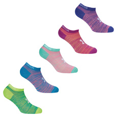 Next Essential Twist - Girls' Ankle Socks (pack of 6 pairs)