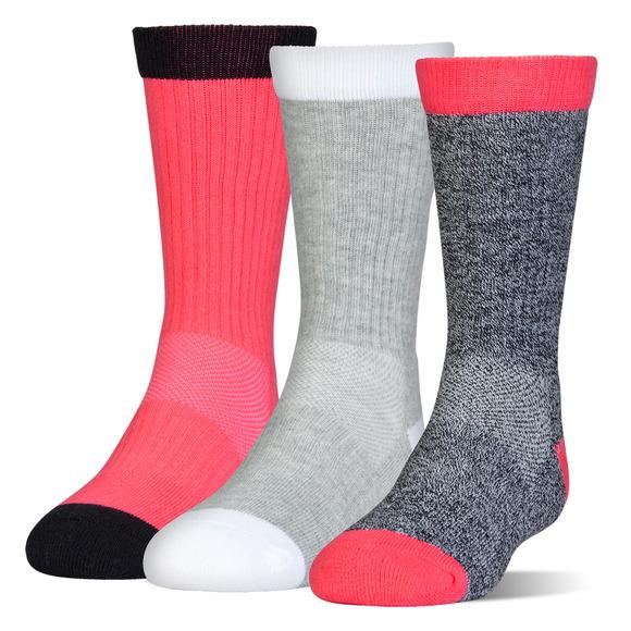Next Statement - Girls' Cushioned Socks (Pack of 3 pairs)