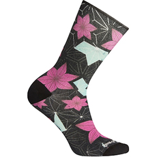 Curated Kimono Flower Crew - Women's Socks