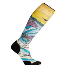 PhD® Ski Light Elite Afterglow Print - Women's Ski Socks