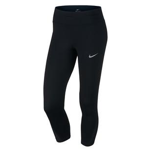 Power Crop - Women's Running Fitted Capri Pants