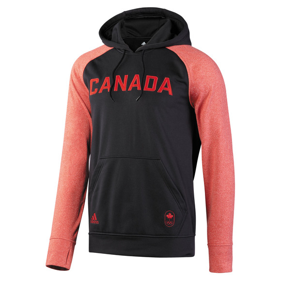 Collection Olympique Canadienne Ultimate Contrast - Chandail à capuchon pour homme