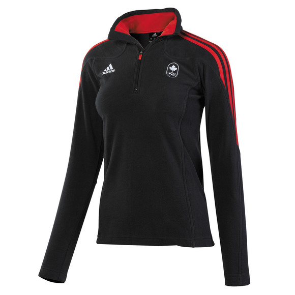 Canadian Olympic Collection Microfleece - Women's Half-Zip Sweater