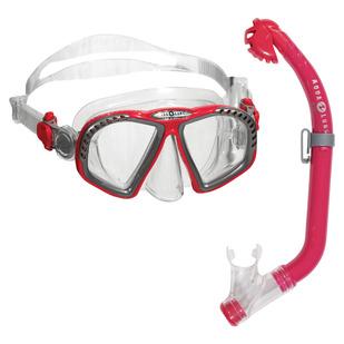 Zipper Jr PC/Eco Dry - Masque et tuba pour junior