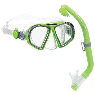 Zipper Jr PC/Eco Dry - Junior Mask And Snorkel