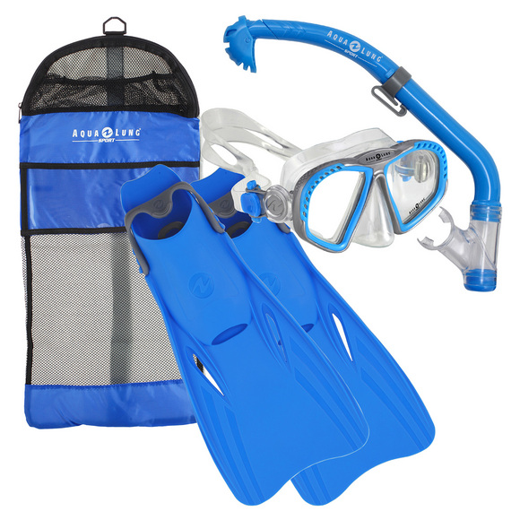 Zipper/Eco Dry/Breaker Jr (1-4) - Masque, tuba et palmes pour junior