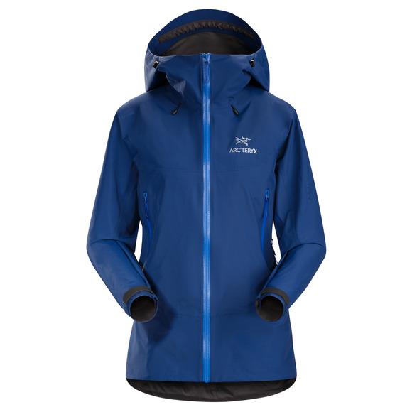 Beta SL Hybrid - Manteau imperméable à capuchon pour femme
