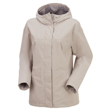 Folding - Women's Hooded Rain Jacket