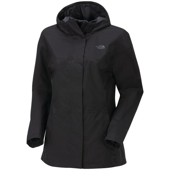 Folding - Women's Hooded Rain Jacket