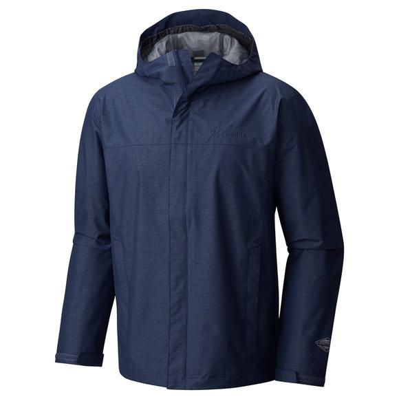 Diablo Creek - Men's Hooded Rain Jacket