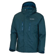 Mia Monte - Men's Insulated Hooded Jacket