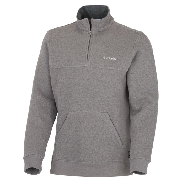 Great Hart Mountain II - Men's Half-zip polar fleece sweater