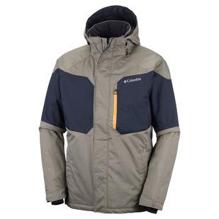Alpine Action - Men's Hooded Jacket