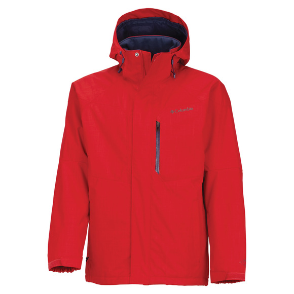 Alpine Action - Men's Hooded Jacket
