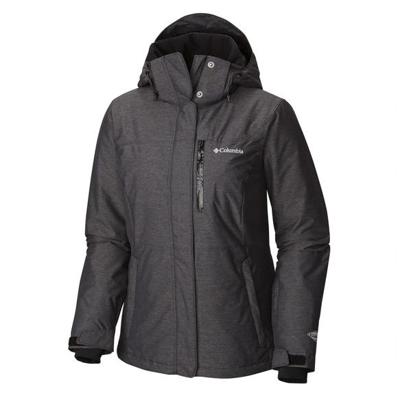Alpine Action - Women's Hooded Jacket