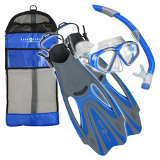Cozumel LX/Sea Breeze/Proflex - Adult Mask (Small)- Snorkel and Fins