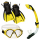 Admiral LX / Island Dry LX / Trek (Small) - Adult Mask - Snorkel and Fins    - 0