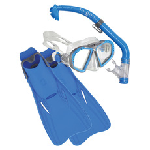 Zipper/Eco Dry/Breaker Jr - Junior Mask, Snorkel and Fins