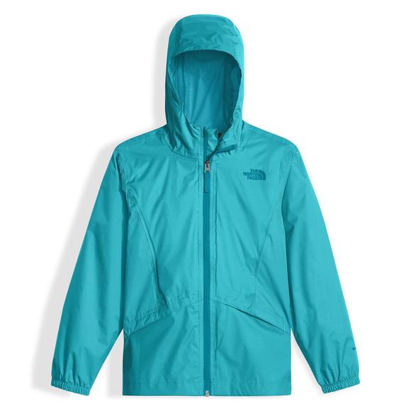 Zipline Jr - Manteau de pluie à capuchon pour fille
