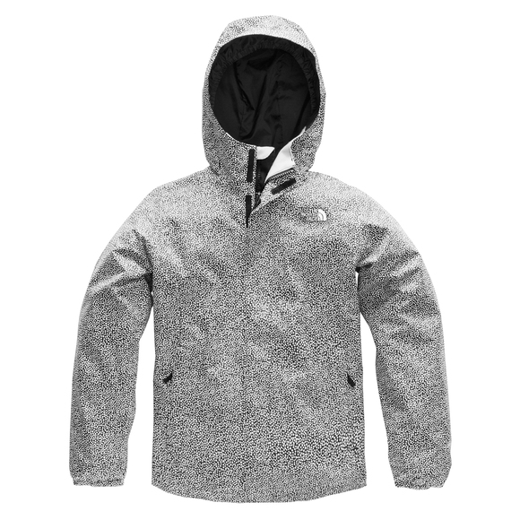 THE NORTH FACE Resolve Reflective Jr - Girls  Hooded Rain Jacket ... e1060b5aa