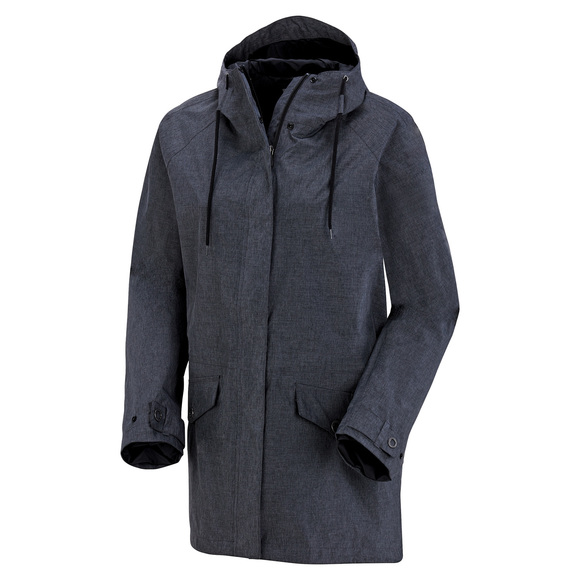 Laurelhurst Park Plus Size - Women's Hooded Rain Jacket