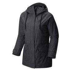 Laurelhurst Park - Manteau imperméable à capuchon pour femme