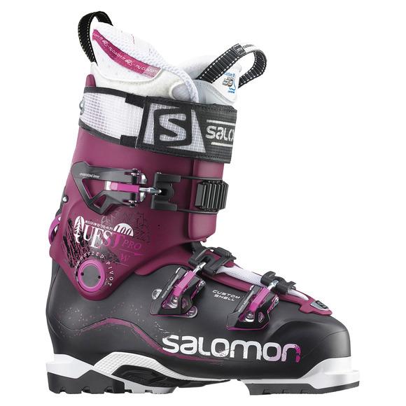Quest Pro 100 W - Bottes de ski alpin pour femme