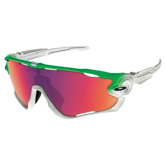 Olympic Collection - Jawbreaker Prizm Road Green Fade Collection - Men's Sunglasses
