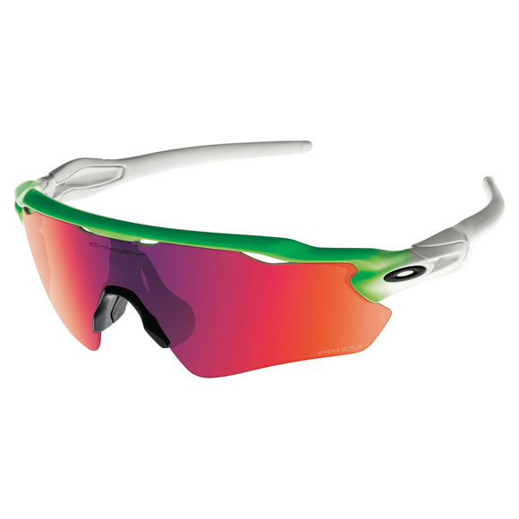 Collection Olympique - Radar EV Path Prizm Road Green Fade Edition - Lunettes de soleil pour adulte