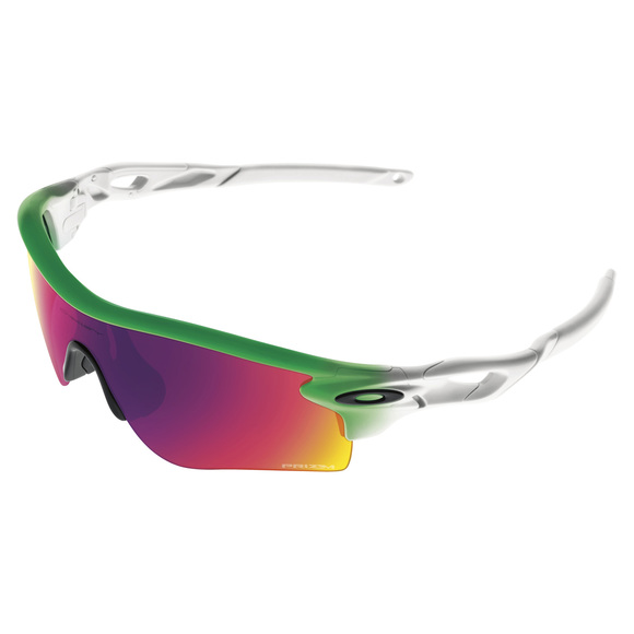 Collection Olympique - Radarlock Path Prizm Road Green Fade Edition - Lunettes de soleil pour adulte