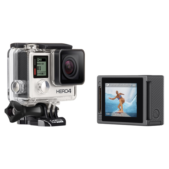 Hero4 Silver - Camera And Mounting Gear Adapted For Different Activities