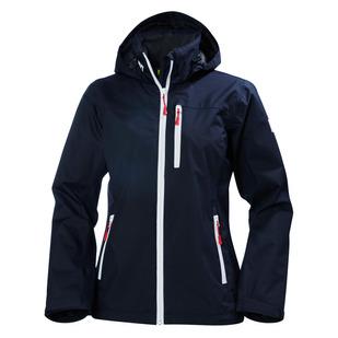 Crew - Manteau imperméable à capuchon pour femme
