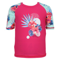 Tropical Sunrise - Kids' One-Piece Rashguard